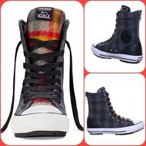 CONVERSE   Chuck Taylor Woolrich Boot Shoe